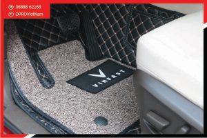 Thảm lót sàn VinFast Lux A2.0 6D loại thảm tốt nhất nên trang bị cho xe
