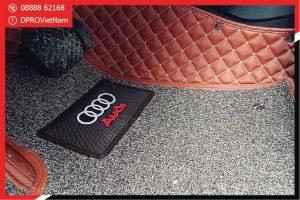 Thảm lót sàn xe Audi A1 6D loại thảm lót sàn cao cấp nên trang bị cho xe