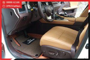 Thảm lót sàn xe Lexus LS 6D chính hãng