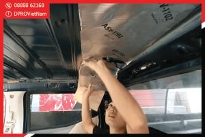 Kinh nghiệm khi thực hiện cách âm chống ồn cho xe Mitsubishi Attrage