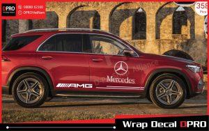 Tem xe Mercedes GLE – MGLE001