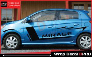 Tem xe Mitsubishi Mirage – MSMRG005