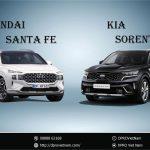 So sánh Kia Sorento 2021 và Santafe 2021 – SUV nào tốt hơn?